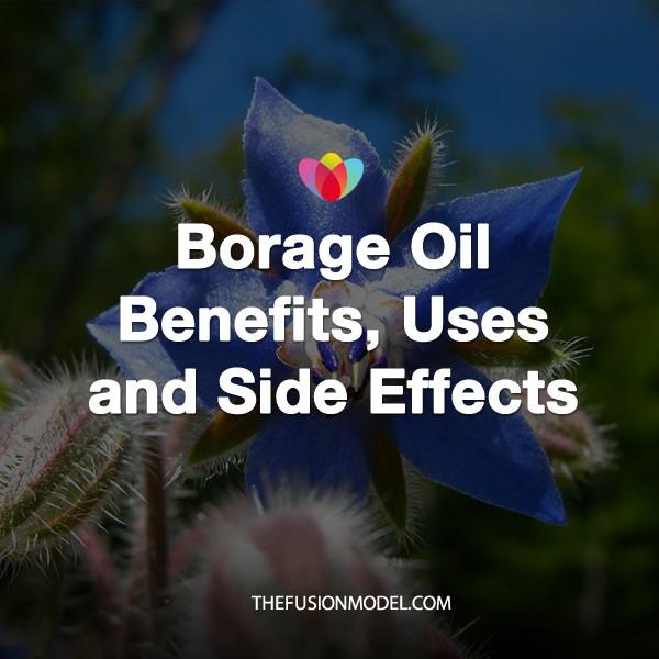Health benefits of borage oil